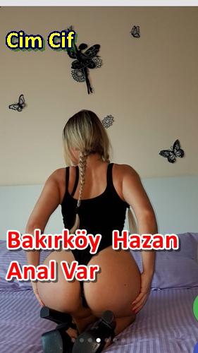 Bakırköy Kadın Escort Hazan