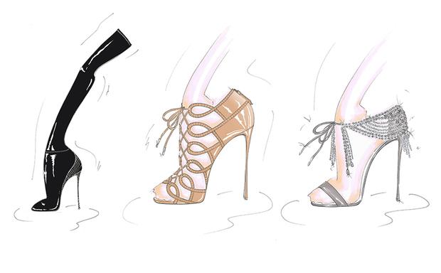 Olivia Palermo'dan ayakkabı koleksiyonu